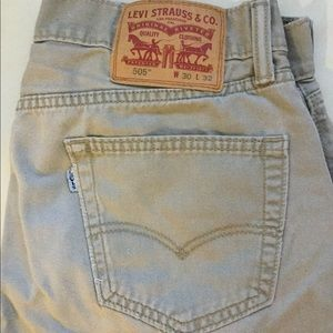 LEVIS ORIGINAL RIVETED 505 Men's Jeans ❤️
